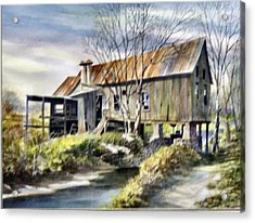 Levy Deas Grist Mill  Sold Acrylic Print