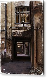 Light At The End Of The Tunnel Acrylic Print by Elena Nosyreva