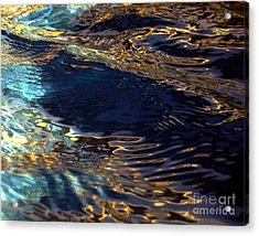 Light On Water Acrylic Print by Dale   Ford