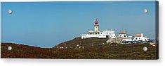 Lighthouse At Cabo Da Roca Acrylic Print by Luis Esteves