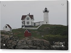 Lighthouse Acrylic Print by Claire Reilly