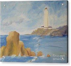 Lighthouse Acrylic Print by Debra Piro