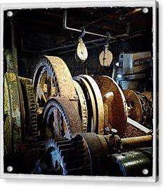 Lightship Engine Acrylic Print