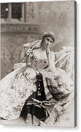 Lillie Langtry 1853-1929, English Acrylic Print by Everett