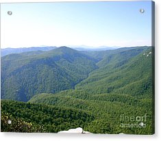 Linville Gorge Acrylic Print