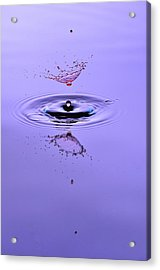 Liquid Collisions Acrylic Print by Gianfranco Merati