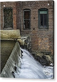 Acrylic Print featuring the photograph Little River Dam by Betty Denise