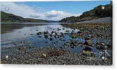 Loch Spelve Acrylic Print by Steve Watson