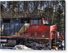 Locomotive Acrylic Print by Kim French