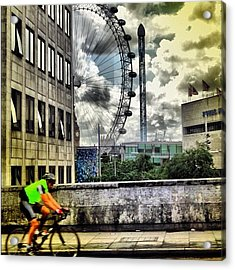 #london #london2012 #ignation #instahub Acrylic Print by Vanessa C
