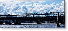 London Skyline Acrylic Print by Dawn OConnor