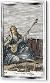 Long Lute, 1723 Acrylic Print by Granger