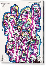 Look Around Acrylic Print by Robert Wolverton Jr