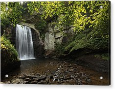 Acrylic Print featuring the photograph Looking Glass Falls by Doug McPherson