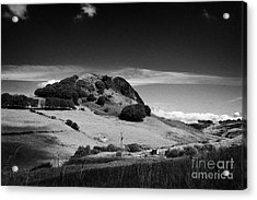 Loudoun Hill East Ayrshire Scotland Uk United Kingdom Acrylic Print by Joe Fox