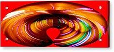 Love Acrylic Print by Carolyn Repka