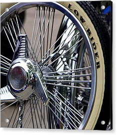 Low Rider And Silver Spokes - II Acrylic Print by Tam Graff