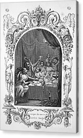 Lucrezia Borgia (1480-1519) Acrylic Print by Granger