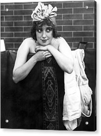 Mabel Normand, Ca. 1910s Acrylic Print by Everett