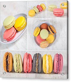 Macarons Acrylic Print by Sabino Parente