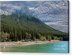 Maligne Lake Jasper Alberta Acrylic Print