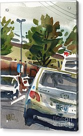 Mall Parking Acrylic Print by Donald Maier