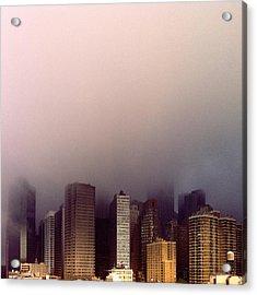 Manhattan Acrylic Print by Eli Maier