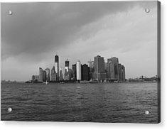 Manhattan Acrylic Print by Nina Mirhabibi