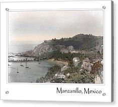 Manzanillo Mexico Acrylic Print