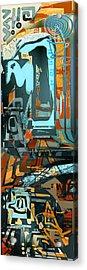 Maoi Acrylic Print by Anne Weirich