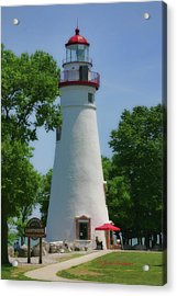 Acrylic Print featuring the photograph Marble Head Lighthouse by Joan Bertucci