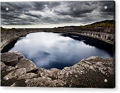 Marmora Mine Acrylic Print by Cale Best