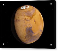 Mars Acrylic Print by Joe Tucciarone
