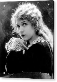 Mary Pickford, Ca. 1918 Acrylic Print by Everett