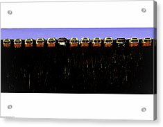 Acrylic Print featuring the photograph Mass Transit by Michael Nowotny