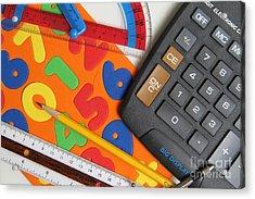 Mathematics Tools Acrylic Print by Photo Researchers Inc