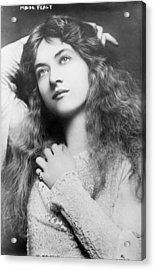 Maude Fealy 1881-1971, American Acrylic Print by Everett