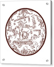Mayan Cosmos Acrylic Print by Science Source