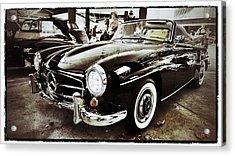 Mercedes 190 Sl Acrylic Print