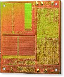 Microchip, Sem Acrylic Print