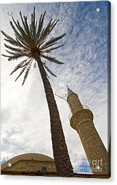 Minaret Acrylic Print by Stelios Kleanthous