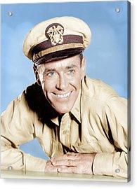Mister Roberts, Henry Fonda, 1955 Acrylic Print by Everett