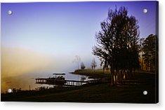 Misty Morning On Lake Jaunita Acrylic Print