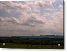 Acrylic Print featuring the photograph Mohawk Valley by Steven Richman