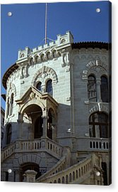 Acrylic Print featuring the photograph Monte Carlo Courthouse by Steven Richman