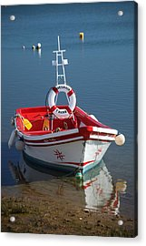 Moored Up Acrylic Print by Jez C Self