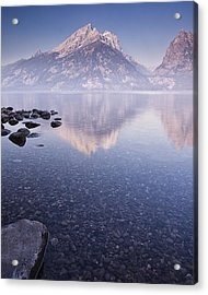Morning Calm Acrylic Print by Andrew Soundarajan