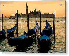Morning In Venice Acrylic Print by Barbara Walsh