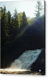 Acrylic Print featuring the photograph Morning Waterfall by Stacy C Bottoms