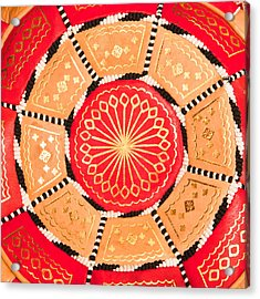 Moroccan Cushion Acrylic Print